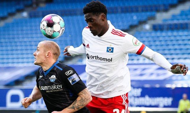 Amadou Onana à Hambourg
