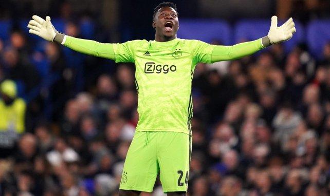 Ajax : André Onana plaît aussi en France
