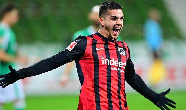 L'Eintracht Francfort fixe le prix du très courtisé André Silva