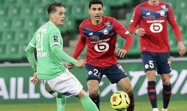 Ligue 1 : l'AS Saint-Etienne stoppe l'hémorragie et tient tête au LOSC