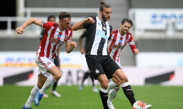 Andy Carroll sous les couleurs de Newcastle