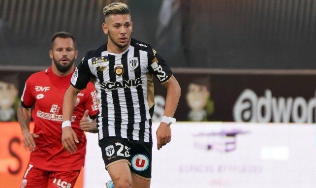Farid El Melali lors d'un match face à Dijon
