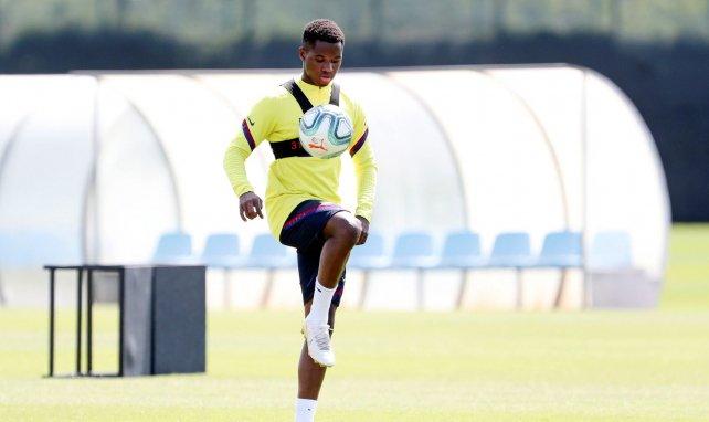 Barça : sanctionné, Ansu Fati a joué avec la réserve