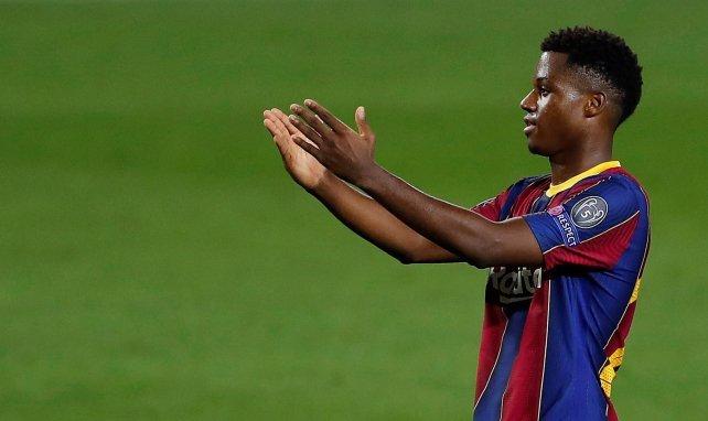 Barça - Real : l'égalisation d'Ansu Fati en vidéo