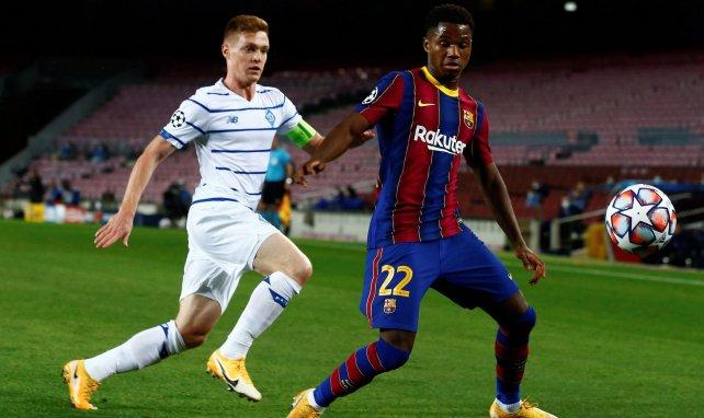 Barça : le message de Ronald Koeman à Ansu Fati