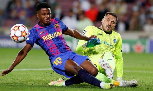 Barça : le PSG, Liverpool et MU ont tenté d'arracher Ansu Fati