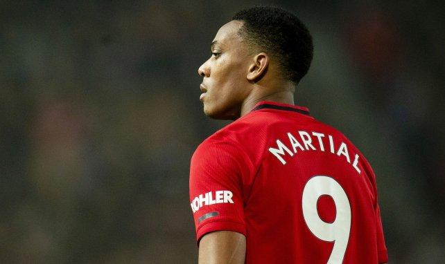 MU : Anthony Martial vivement critiqué après la défaite contre West Ham