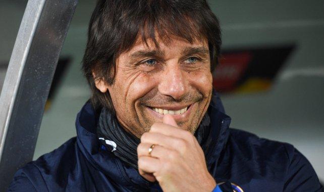 Antonio Conte, l'entraîneur heureux de l'Inter