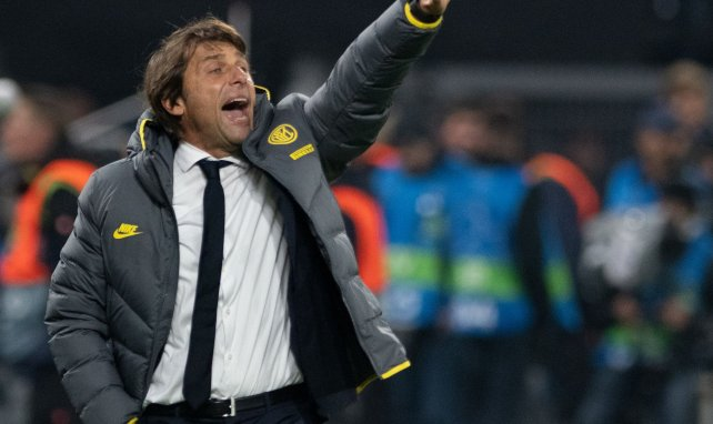 Antonio Conte, le coach de l'Inter Milan