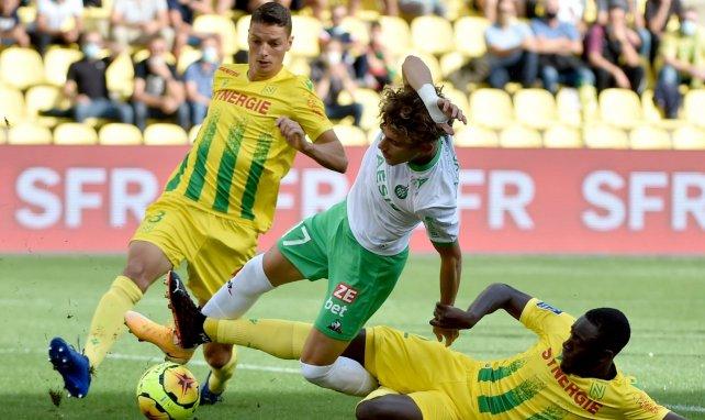 L1 : le FC Nantes revient de loin contre l'ASSE et arrache un nul