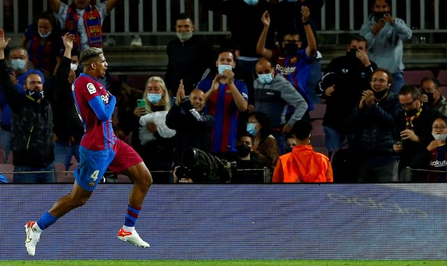 Barça-Grenade : Ronald Araujo estime que les Blaugranas méritaient de gagner
