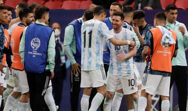 L'Argentine et Lionel Messi ont le sourire