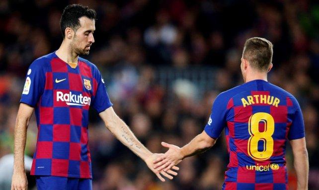 Arthur Melo sous les couleurs du Barça