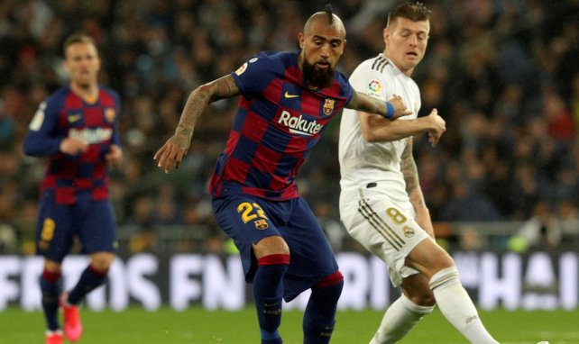 Inter : Arturo Vidal est arrivé