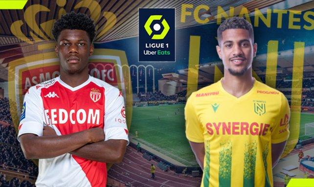 AS Monaco - FC Nantes : les compositions probables