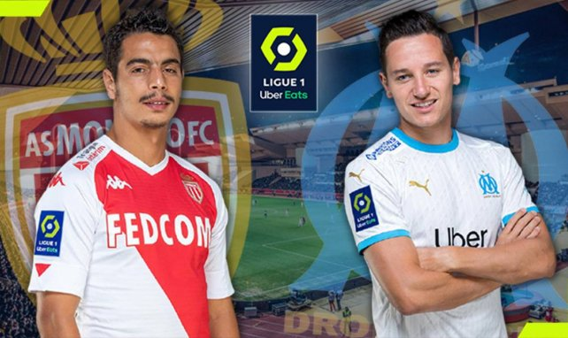 AS Monaco-OM : les compositions officielles