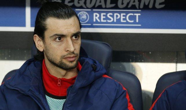 Javier Pastore sur le banc lorsqu'il était au PSG