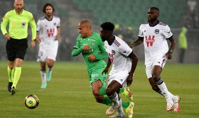 Wahbi Khazri buteur face aux Girondins.