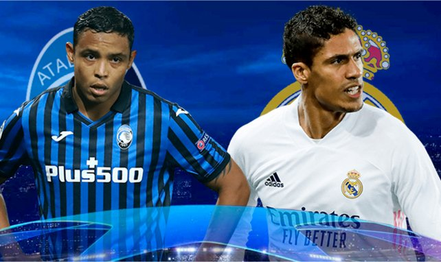 Atalanta-Real Madrid : les compositions officielles