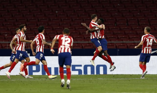 L'Atletico se plaît sur le podium — Liga