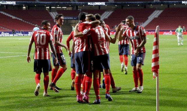 Liga : l'Atlético de Madrid dompte le Betis et grimpe sur le podium