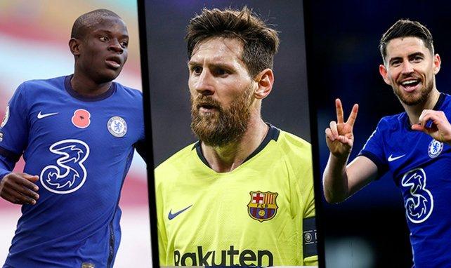 N'Golo Kanté, Lionel Messi et Jorginho sont bien placés pour remporter le Ballon d'Or