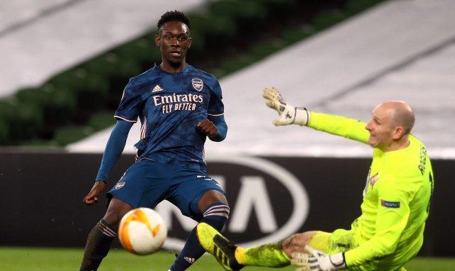 Folarin Balogun buteur avec Arsenal face à Dundalk