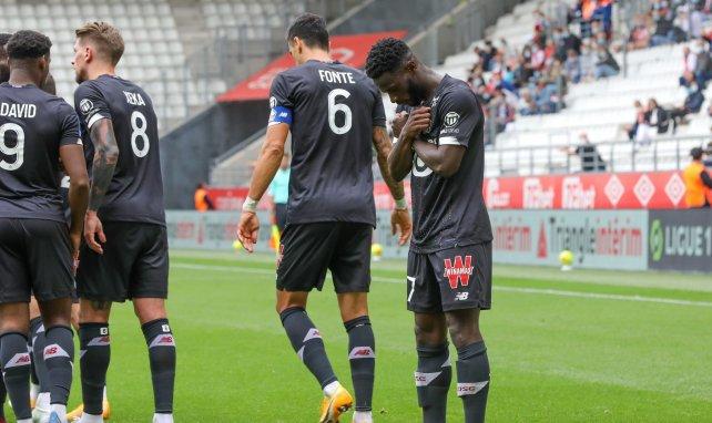 Jonathan Bamba a inscrit le seul but de la partie contre Reims