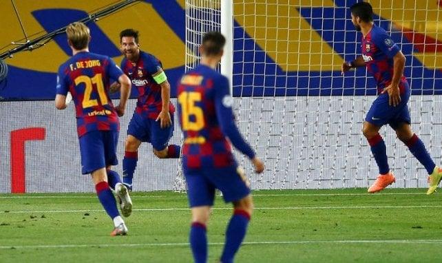 Barça - Naples : Lionel Messi n'a pas salué l'arbitre ni Manolas