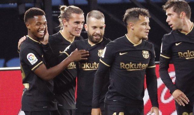 Liga : réduit à dix, le FC Barcelone gifle le Celta de Vigo