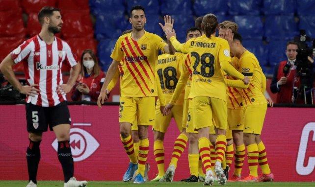 Coupe du Roi : le FC Barcelone étrille Bilbao et remporte son premier trophée de la saison