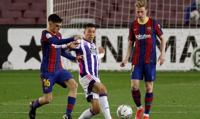 Le Barça accroché par Valladolid