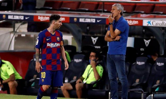 FC Barcelone : les premiers favoris pour remplacer Quique Setién