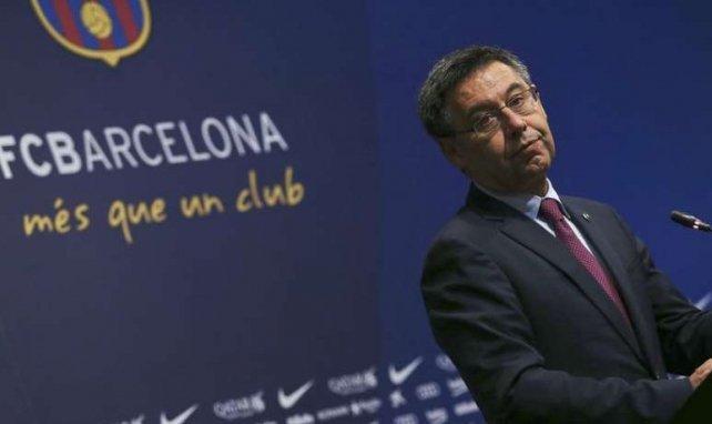 Le président Bartomeu s'en prend à Arthur — FC Barcelone