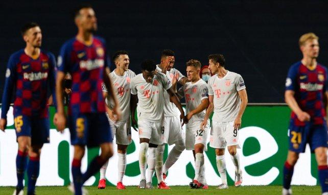 LdC : le Bayern Munich marche sur l'eau et atomise le Barça