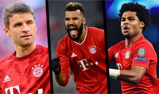 Müller, Choupo-Moting et Gnabry sous le maillot du Bayern Munich