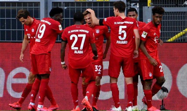 Les compositions officielles de Bayern Munich - Fortuna Düsseldorf