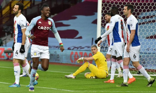 Bertrand Traoré a le sourire avec Aston Villa