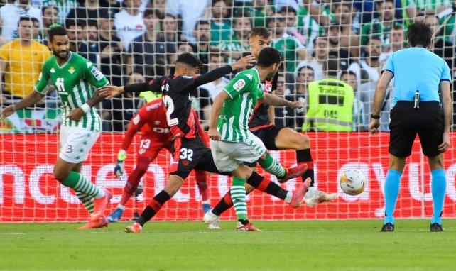 Liga : Willian José délivre le Betis Séville du piège tendu par le Rayo Vallecano