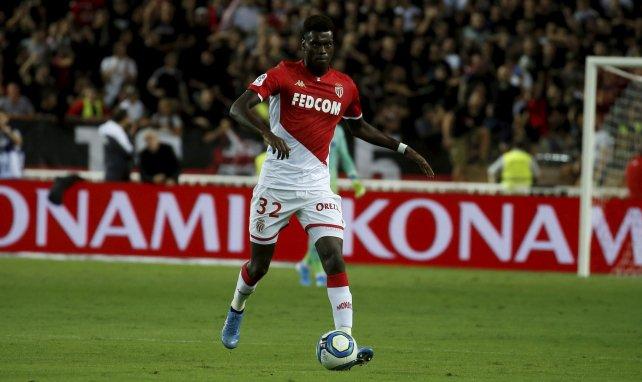 Benoît Badiashile sous les couleurs de l'AS Monaco