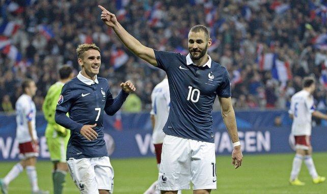 Pour sa dernière sélection chez les Bleus en octobre 2015, Benzema avait inscrit un doublé