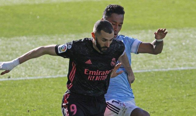 Karim Benzema face au Celta