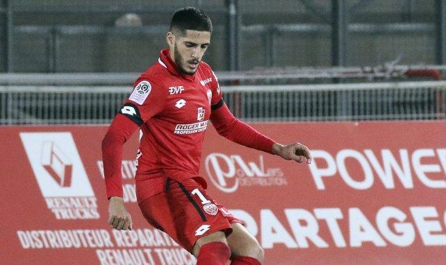 Yassine Benzia la saison dernière à Dijon