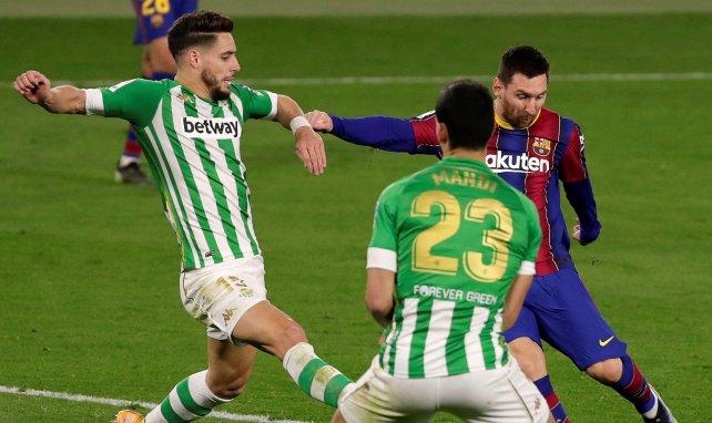 Lionel Messi buteur face au Betis