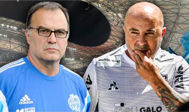 OM : Marcelo Bielsa a longuement échangé avec Jorge Sampaoli pour le convaincre de venir