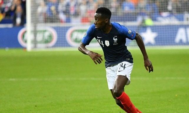 Blaise Matuidi sous le maillot de l'équipe de France