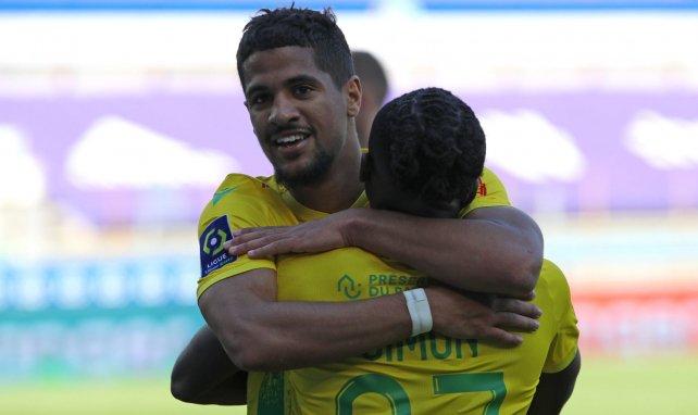 Ludovic Blas ouvre le score pour Nantes