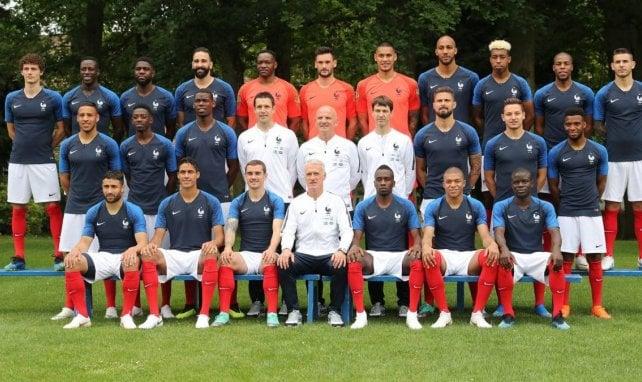 Les Bleus avant le Mondial 2018