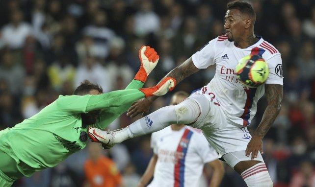 Jérôme Boateng avec l'OL contre Donnarumma et le PSG