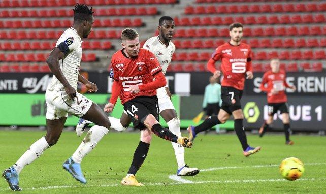 Benjamin Bourigeaud en action face au FC Metz